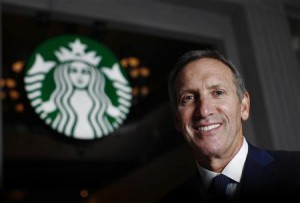 Howard Schultz CEO de Starbucks